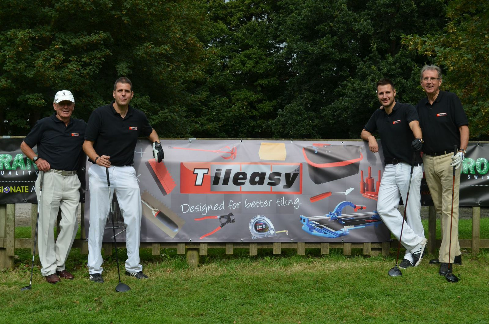 Tileasy and Tile Giant Golf Day