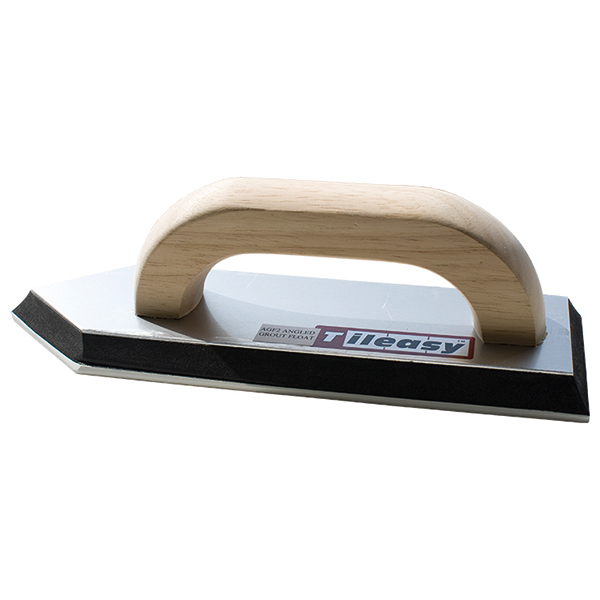 A wooden handled pointing float, ideal for awkward areas.