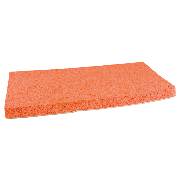 For obtaining a smooth finishing surface.
