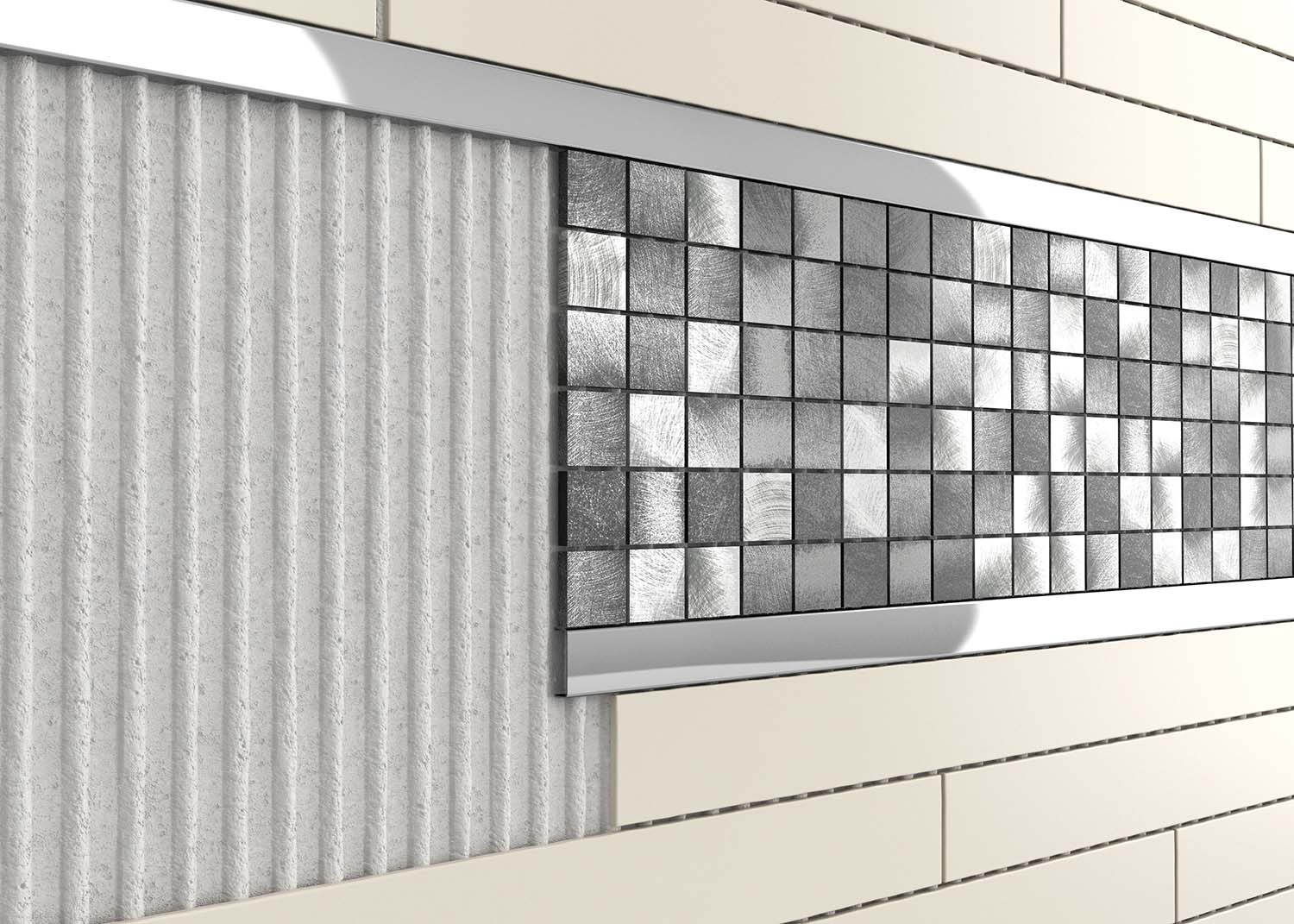 Metal Polished Stainless Steel Tile Trim Tileasy