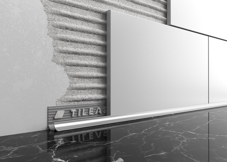 Metal Worktop Tile Trim Tileasy