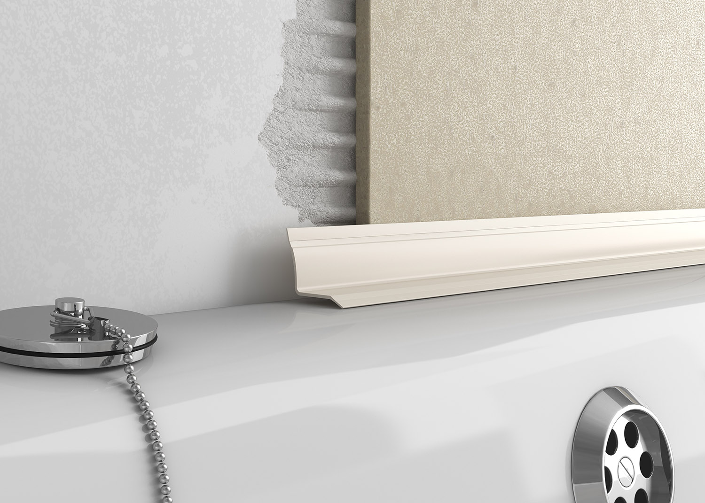 Plastic Overtile Bath Seal Tileasy