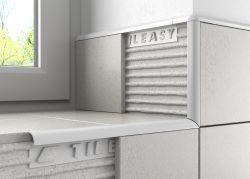 Pro tile trim is an alternative to contract tile trim, popular with professional tilers.