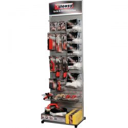 Display for all Tileasy tools and products