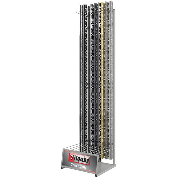 Display for all Tileasy tile trims.