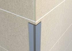 Tileasy Chrome Protective Wall Edging