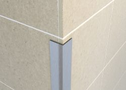 Tileasy Stainless Steel Protective Wall Edging