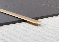 Tileasy Matt Gold Transition T Bar